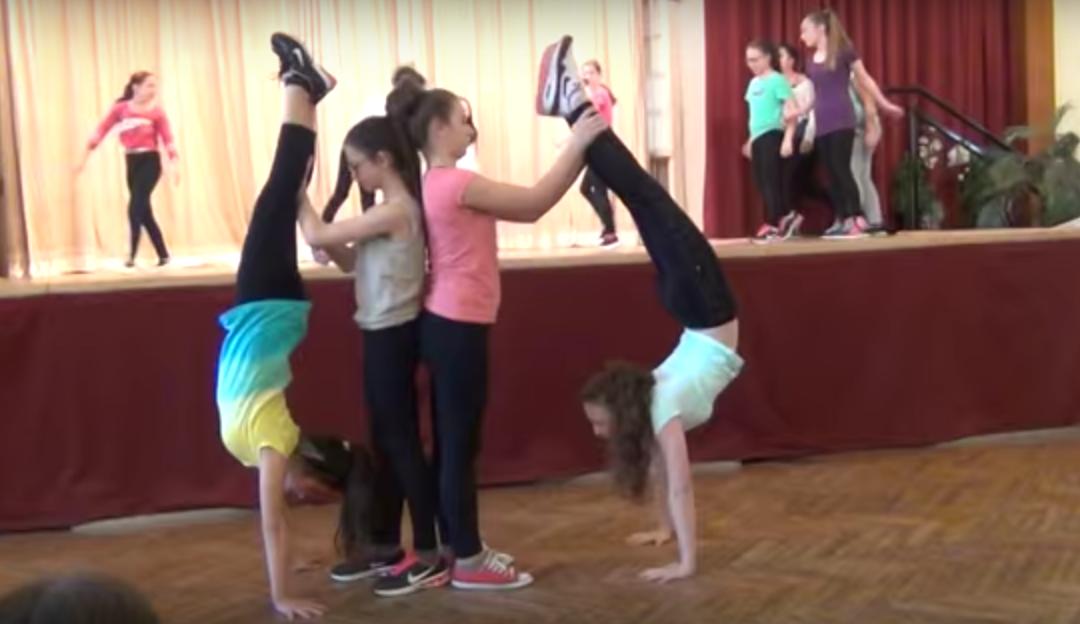 Tanzaufführung im Theresianum