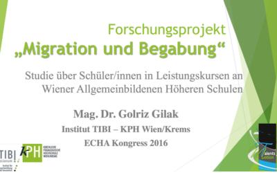 """Ergebnisse der Studie """"Migration und Begabung"""""""