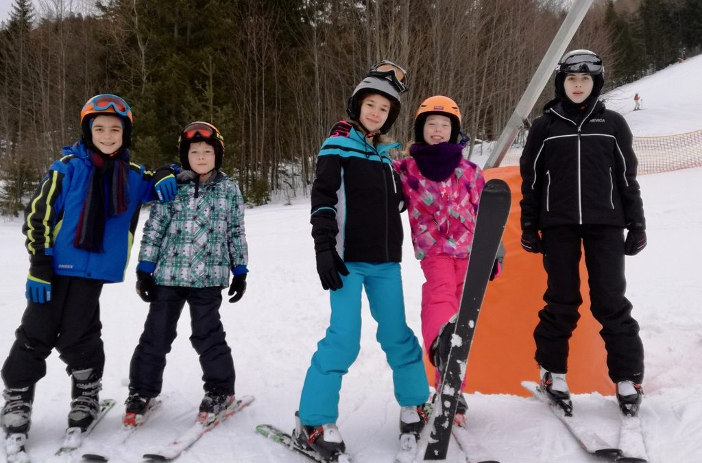 Skikurs 2. Klassen – 2. Tag