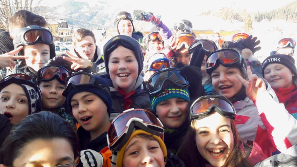 Skikurs 2. Klassen – 1. Tag
