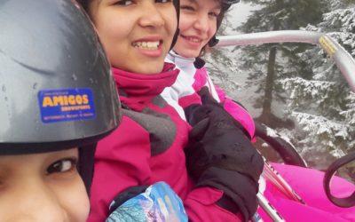 Skikurs 2. Klassen – 3. Tag