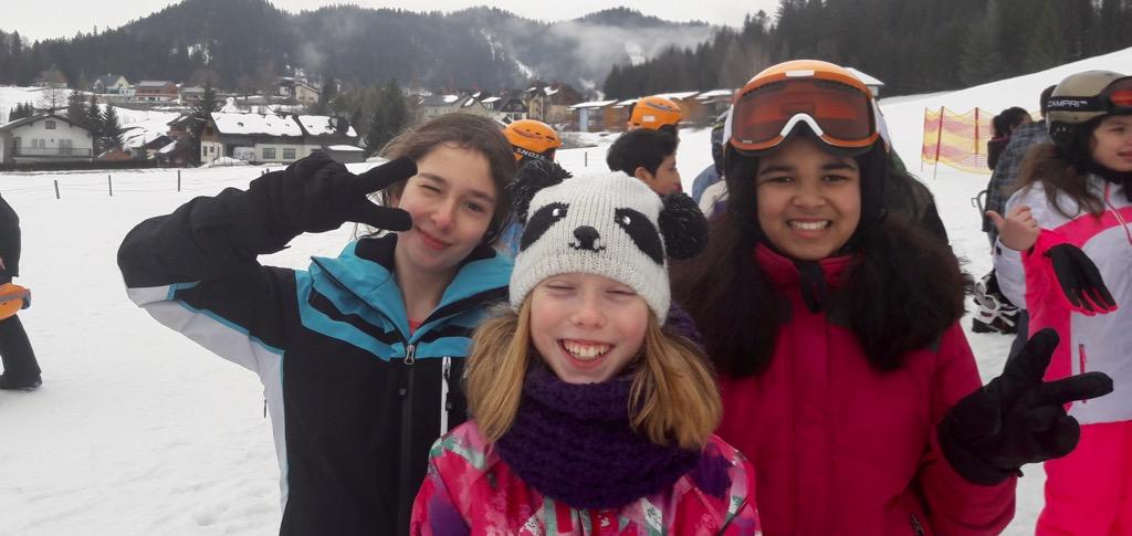 Skikurs 2. Klassen – 4. Tag