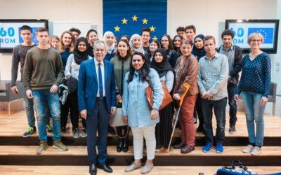 Die EHS beim EU-Dialog mit HBP Dr. Van der Bellen