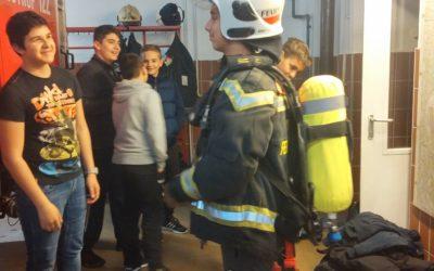 Bei der Feuerwehr Mariahilf