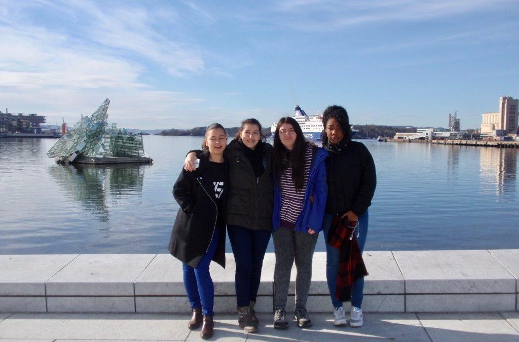 Mit Erasmus+ in Oslo