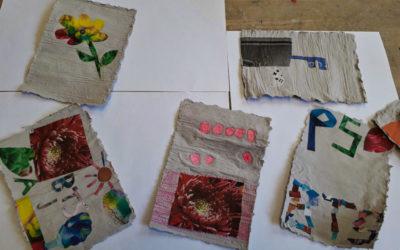 """Workshop """"Papier schöpfen"""""""