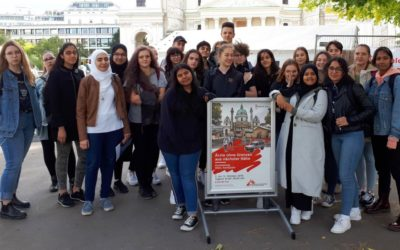 Ärzte ohne Grenzen – 6E bei der Ausstellung am Karlsplatz
