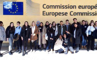 Die 6E in Brüssel und Paris