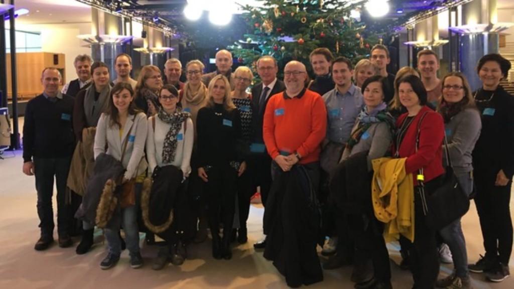Lehrer/innenfortbildung in Brüssel